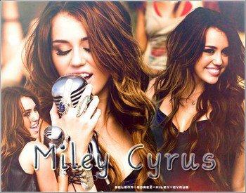 [»] Selena-Gσmez-Miley-Cyrus {~ Article pσur cσmm's : Création : décσratiσn ~}