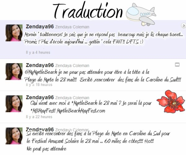 Interview , Picture , Tweet > @Bellathorne143 & @Zendaya96