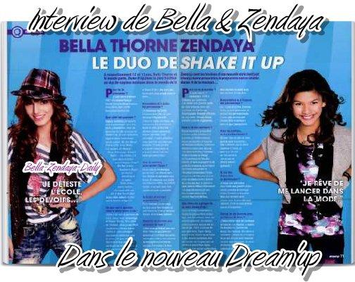 @Bellathorne143 & @Zendaya96 On French Magasine ^^ / Dans des mag's français