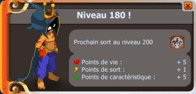 """Up 180 de Sacri et """"remerciement"""" d'un Sadi"""