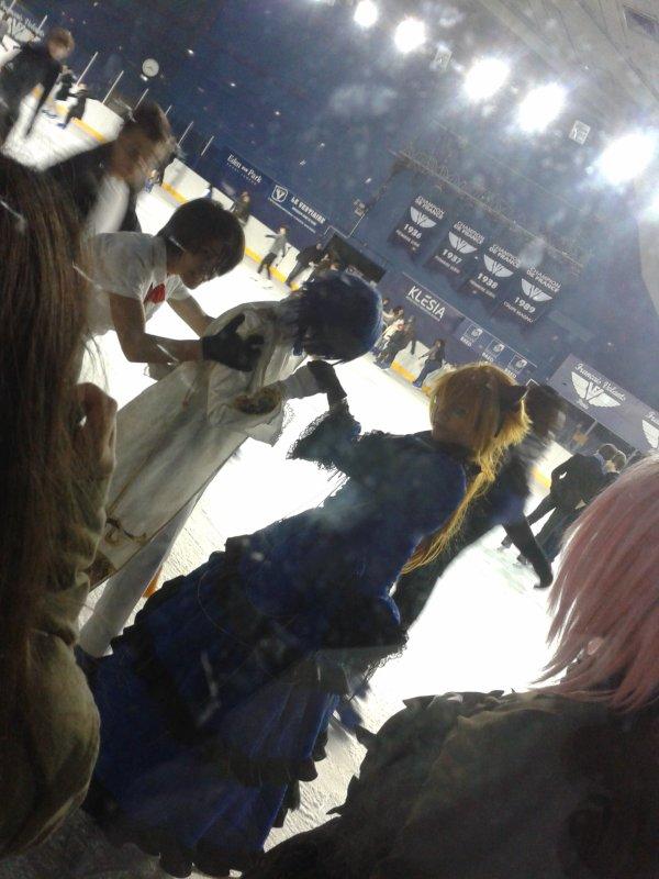 Bercy la patinoir  decembre 2012