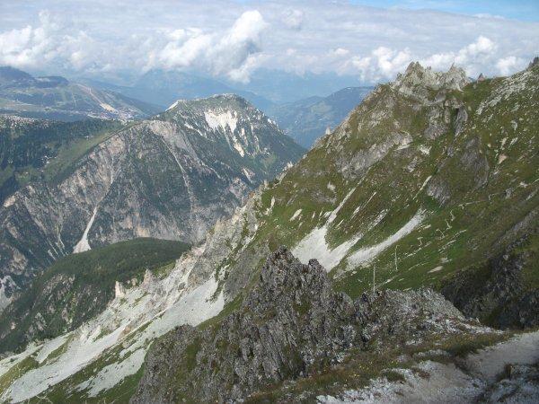 Vacances en Savoie: la Pointe de Leschaux