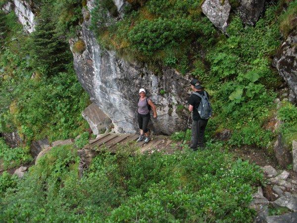 Vacances en Savoie : Ascension du Pas d'âne Suite