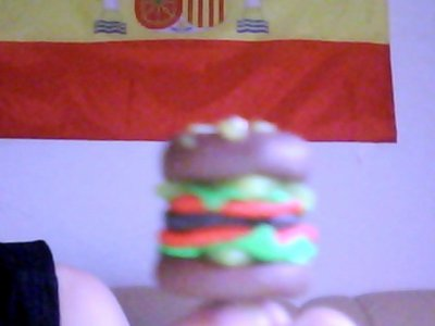 Pendentif Hamburger