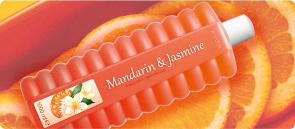 BAIN-MOUSSE MANDARINE & JASMIN