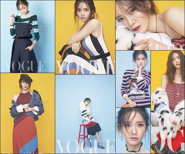 ● Découvrez Les Photoshoots de  Yoona pour Vogue Magazine pour septembre 2016   absolument yoona est magnifique dans ces images , avec ces tenues incroyables certainement la peine d'acheter ce magazine ●●.