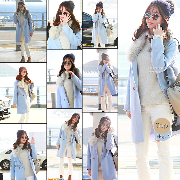 . 08/11/16 - Miss Seohyun  à l'aéroport pour aller à Berlin pour un photoshoot   pour une magazine tu aimes le tenue ?   en amour avec son style, seohyun toujours élégante et magnifique vêtu d'un manteau bleu avec quelques touches qui font toute la tenue élégante  .
