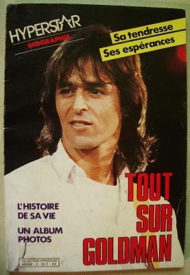 Tout sur Jean-Jacques Goldman par Philippe Deboissy - 1986