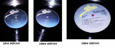 """Les 3 disques """" Minoritaire """" (différent à chaque foi!)"""