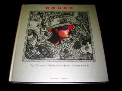 ROUGE, très beau livre reçu ce matin!