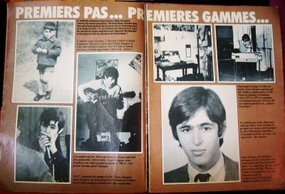 Pages 4 & 5: PREMIERS PAS... PREMIERES GAMMES...