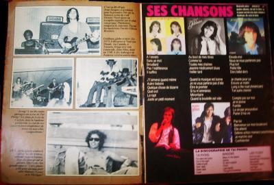 Pages 6 & 7: Suite des p4 & 5 + SES CHANSONS