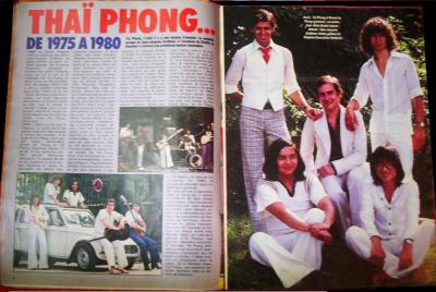 Pages 8 & 9: THAÏ PHONG... DE 1975 A 1980