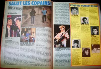 Pages 14 & 15:  SALUT LES COPAINS !