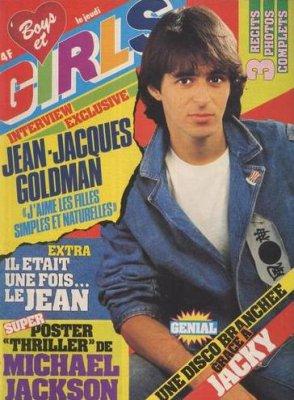JJ Goldman à fait de nombreuses pages de couv et l'objet de nombreux articles de presse