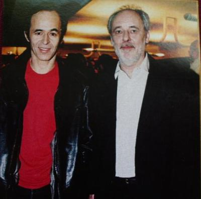 Photo: Jean-Jacques Goldman & Maxime Le Forestier