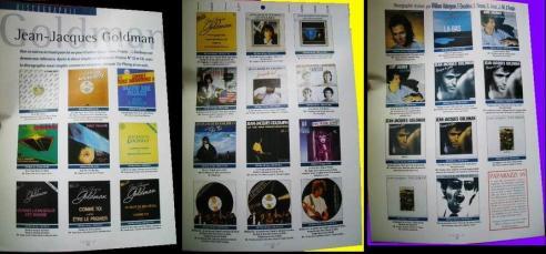 Discographie maxi-singles commerce et promo, période Taï Phong et en solo