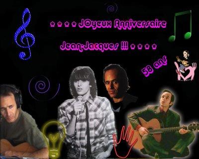 Dimanche 11 Octobre 2009 **** JOYEUX ANNIVERSAIRE JEAN-JACQUES !!!!