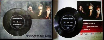 Programme Concert (avec vinyle 45T souple) + billet de la tournée FGJ en 1991