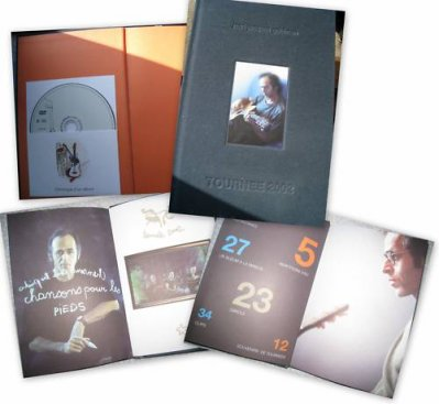 """Livre et DVD """"Chronique d'un album"""" de JJG trouvé sur e-bay ^^"""