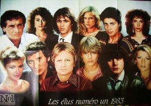 Poster du magazine Numéros 1 - 1983