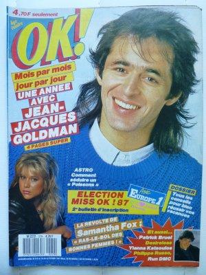 OK N°579 - 16 au 22 Février 1987  ---------->>> Photos inédites!