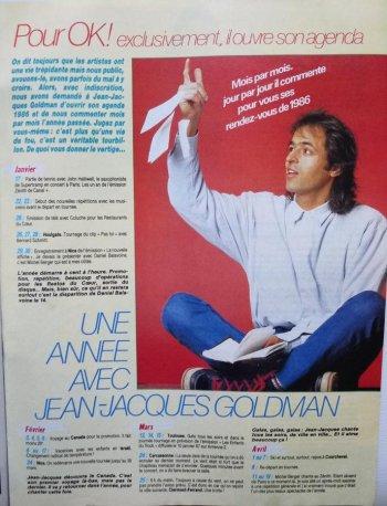 Ok N°579 - 1987 - Une année avec Jean-Jacques Goldman