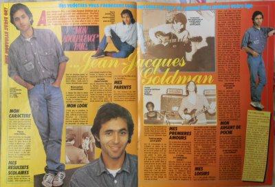 Couverture + 2 pages du OK! N° 622 - du 14 au 20 Décembre 1987