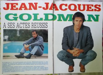 Article 1991: Jean-Jacques Goldman- A ses actes réussis
