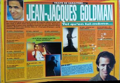 Article 1991: Jean-Jacques Goldman - Tel qu'en lui même...