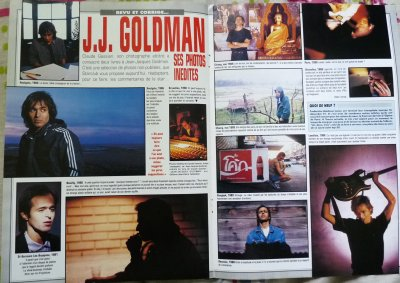 Article: 1991 - Jean-Jacques Goldman - Ses photos inédites