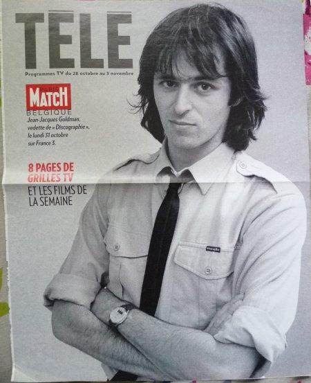 Page de couverture d'un programme TV Belge - 28 octobre au 3 novembre 2011
