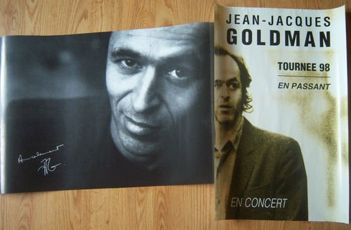 """2 Posters de la tournée 1998 """"En passant"""" - <3 Ce regard...."""