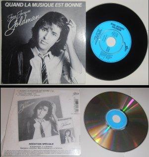 """CD Single """"Quand la musique est bonne"""" / """"Veiller tard"""" - Réédition spéciale (1999)"""
