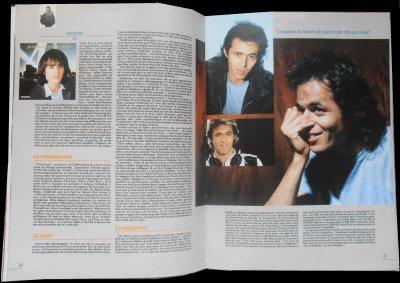 """Star mag: pages 20 & 21: Suite 2 -  """"Les Années Goldman"""""""
