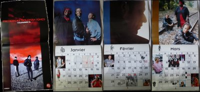 Calendrier collector FGJ de la Tournée Rouge - 1994
