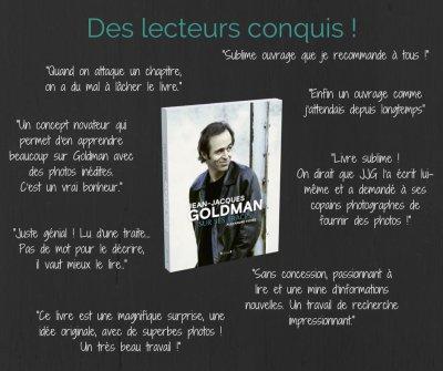 """""""Sur ses traces"""", nouveau livre sur Jean-Jacques Goldman qui sort le 6 octobre prochain."""