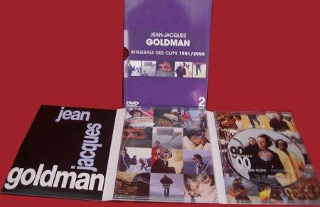 Intégrale des clips 1981 / 2000 en 2 DVD