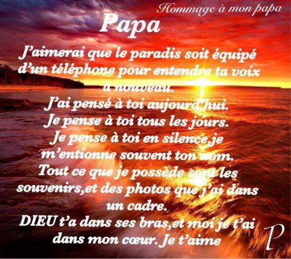pour mon père 7 janvier 1959 - 27 mars 1996