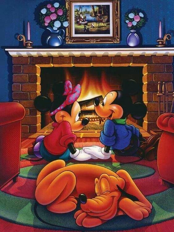 feu cheminée