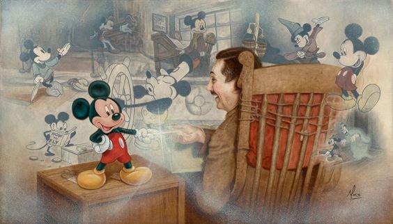 bon anniversaire mickey et minnie 88 ans!!! 1928-2016
