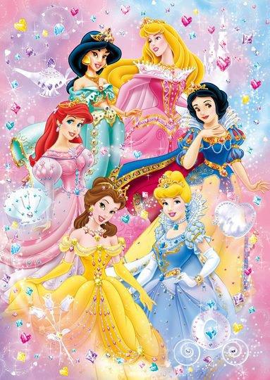 nos princesses!