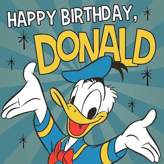 bon anniversaire donald 83 ans