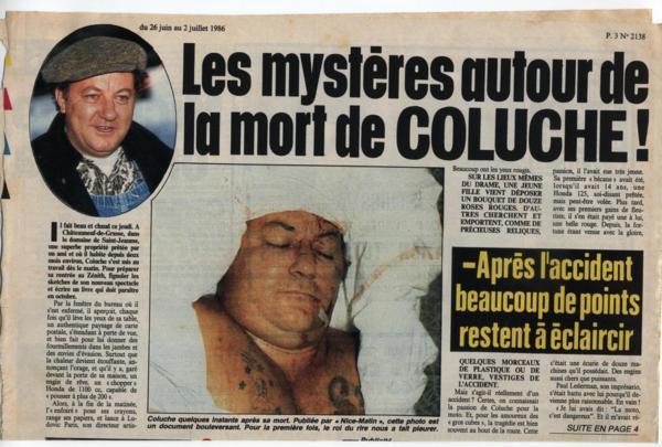 hommage Coluche 28 octobre 1944 - 19 juin 1986