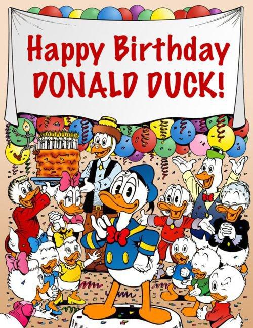 bon anniversaire donald 84 ans