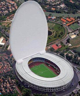 La maquette du nouveau stade d'Anderlecht....mouahahahaha