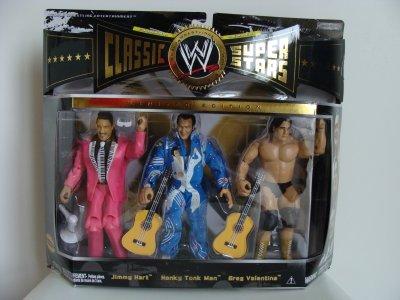 Figurines les Classic du WWE. (boite numéro 2)
