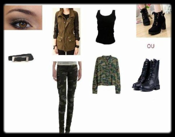 LookBook n°1 :Militaire/Soft