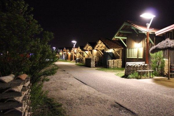 Les cabanes de Larros