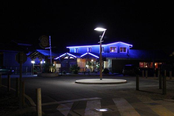 Le restaurant Les Pavois